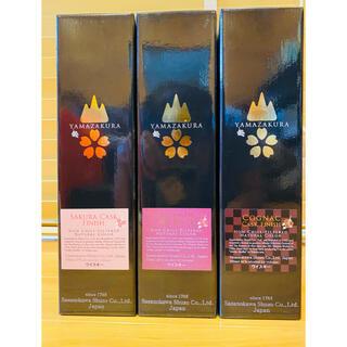 【送料込】山桜 YAMAZAKURA限定ウィスキー 3本セット(ウイスキー)