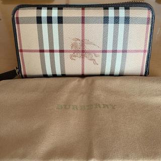 バーバリー(BURBERRY)の【美品】バーバリー男女兼用財布(長財布)