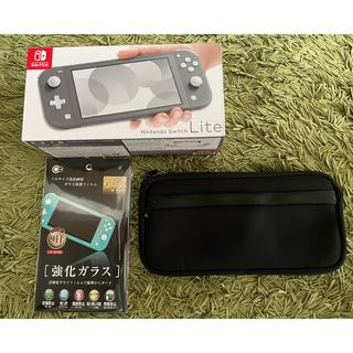 Nintendo Switch - Nintendo Switch LITE グレー オマケ付き