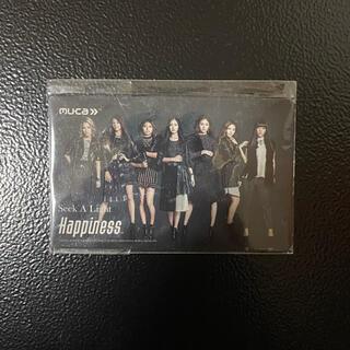 ハピネス(Happiness)のHappiness カード(アイドルグッズ)