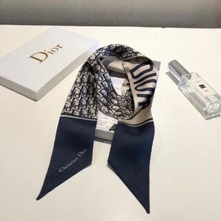 Christian Dior - CHRISTIAN DIOR  ツイリースカーフ