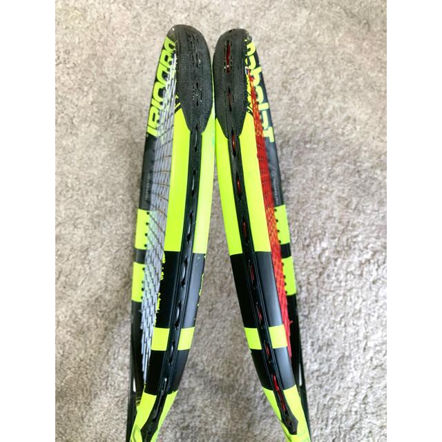Babolat(バボラ)のバボラ ピュアアエロ 2本セット グリップ3 スポーツ/アウトドアのテニス(ラケット)の商品写真