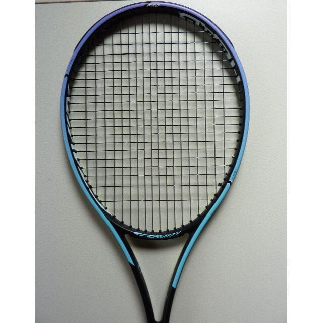 HEAD(ヘッド)のテニスラケット ヘッド GRAVITY PRO 2021(送料込) スポーツ/アウトドアのテニス(ラケット)の商品写真