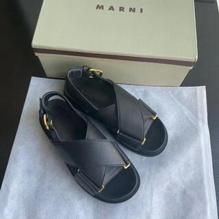 Marni - MARNI★サンダル★35 ブラック