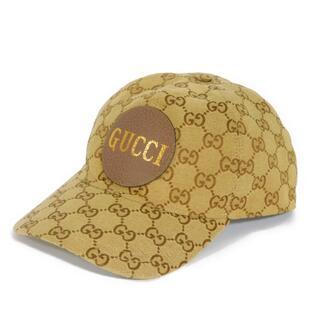 グッチ(Gucci)のGUCCI ベースボールキャップ GGキャンバス ベージュ 576253(キャップ)