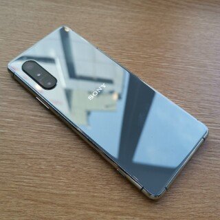Xperia 5 II グレー 128 GB au SIMロック解除済