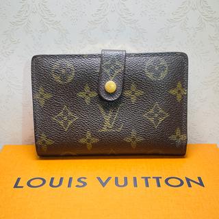 ルイヴィトン(LOUIS VUITTON)のルイ・ヴィトン モノグラム ガマ口 折りたたみ財布(財布)