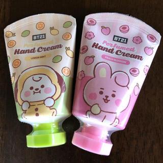 ハンドクリーム ジミン CHIMMY グク COOKY BTS BT21 セット