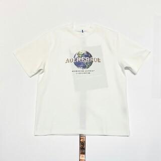 MAISON KITSUNE' - アダーエラー adererror  Tシャツ オーバーサイズA1