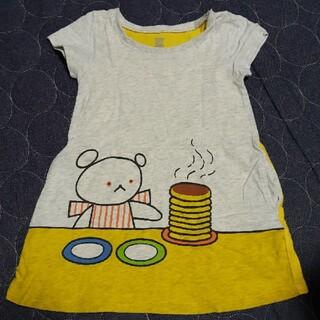 グラニフ(Design Tshirts Store graniph)のしろくまちゃんのほっとけーき ワンピース(ワンピース)