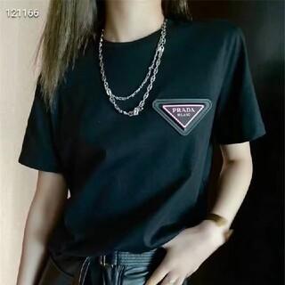 プラダ(PRADA)のPRADA 8000円2枚1902プラダ Tシャツメンズレディース兼用 半袖(Tシャツ(半袖/袖なし))