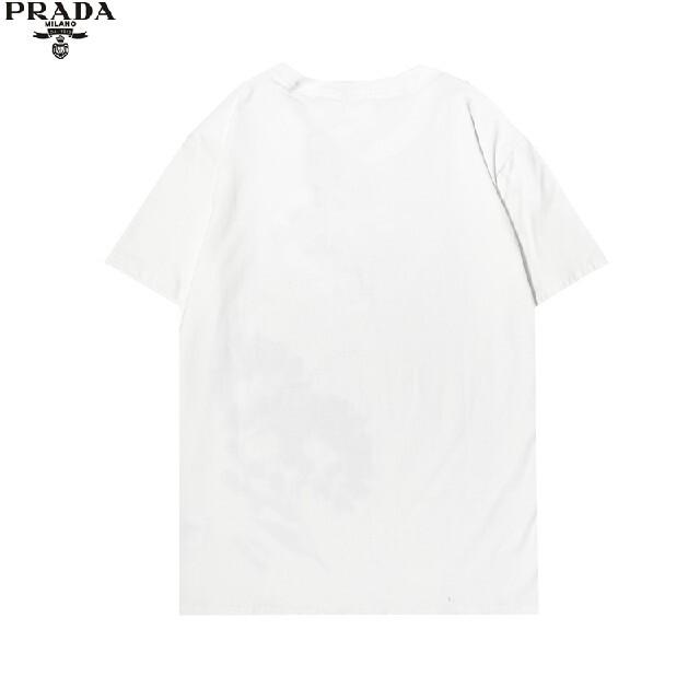 PRADA(プラダ)の0301PRADA プラダ Tシャツメンズレディース兼用8000円2枚半袖 メンズのトップス(Tシャツ/カットソー(半袖/袖なし))の商品写真