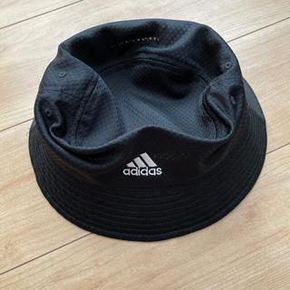 アディダス(adidas)のレディース adidas 帽子 58センチ(ハット)