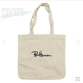ロンハーマン(Ron Herman)のロンハーマン トートバッグ エコバッグ ホワイト(トートバッグ)