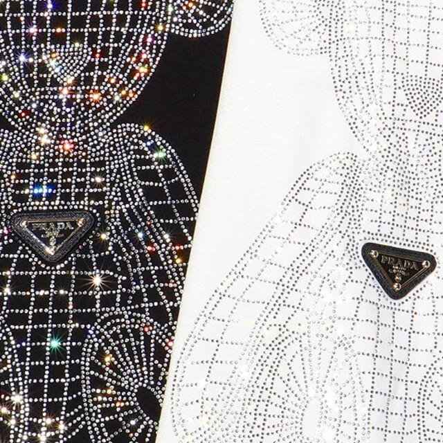 PRADA(プラダ)の0304PRADA プラダ Tシャツメンズレディース兼用8000円2枚半袖 メンズのトップス(Tシャツ/カットソー(半袖/袖なし))の商品写真