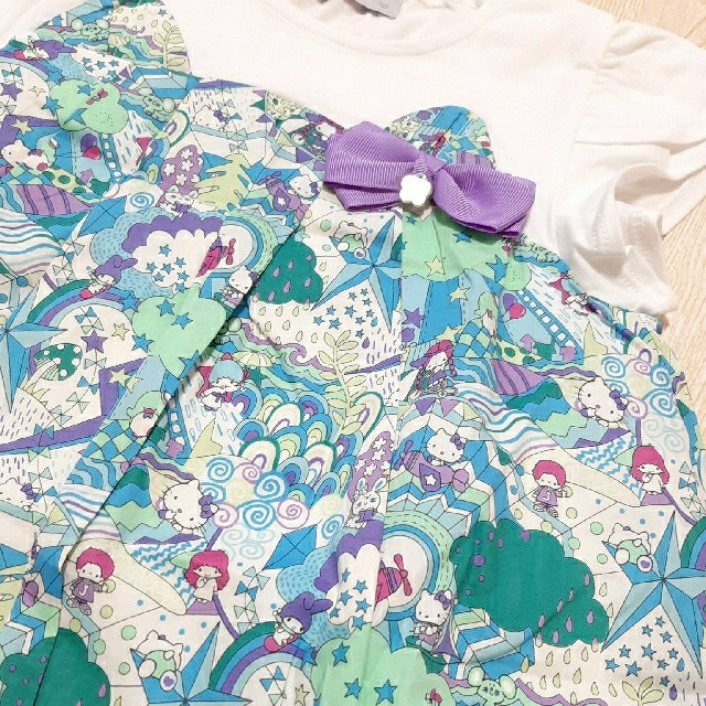 ANNA SUI mini(アナスイミニ)の【新品】アナスイミニ ワンピース キッズ/ベビー/マタニティのキッズ服女の子用(90cm~)(ワンピース)の商品写真