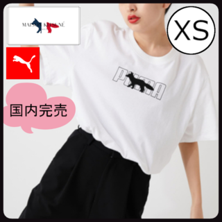 MAISON KITSUNE' - メゾンキツネ × プーマ 半袖Tシャツ