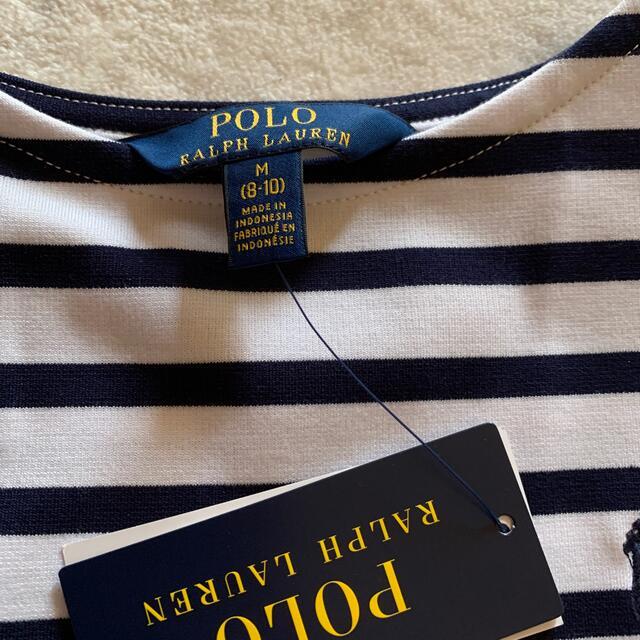 POLO RALPH LAUREN(ポロラルフローレン)の新品未使用 ラルフローレン  ワンピース キッズ/ベビー/マタニティのキッズ服女の子用(90cm~)(ワンピース)の商品写真