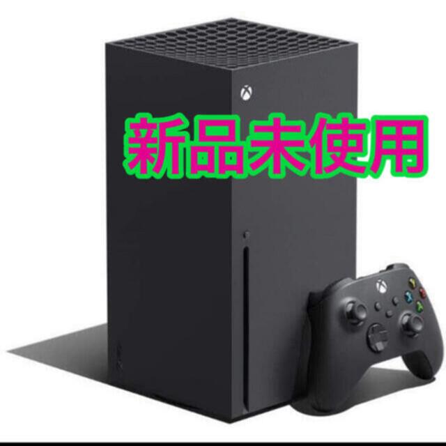Xbox(エックスボックス)の新品未開封 Xbox Series X 本体 国内版 Microsoft エンタメ/ホビーのゲームソフト/ゲーム機本体(家庭用ゲーム機本体)の商品写真