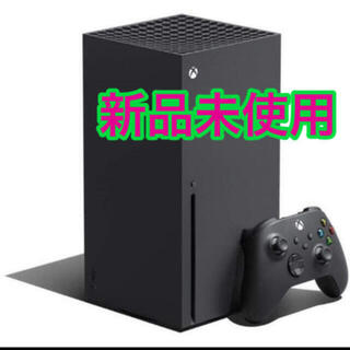 エックスボックス(Xbox)の新品未開封 Xbox Series X 本体 国内版 Microsoft(家庭用ゲーム機本体)