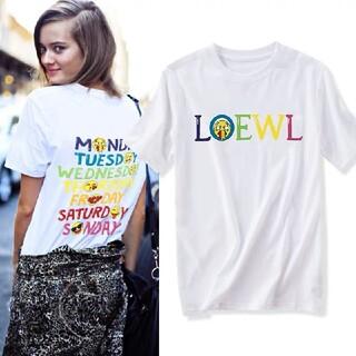 ロエベ(LOEWE)の1203Loewe ロエベ 丸襟半袖Tシャツ8000円2枚(Tシャツ/カットソー(半袖/袖なし))