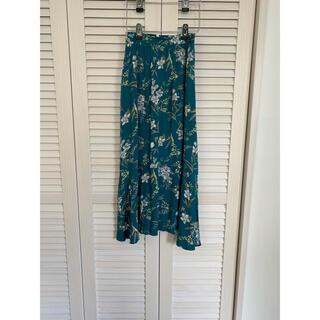 オゾック(OZOC)のオゾック 花柄ロングスカート(ロングスカート)