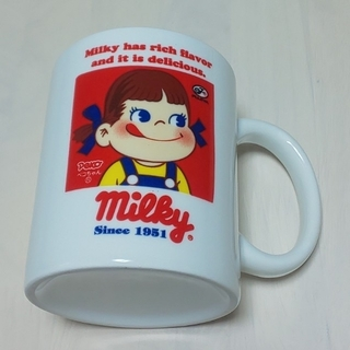 不二家 - 【レア】ペコちゃん ミルキー マグカップ