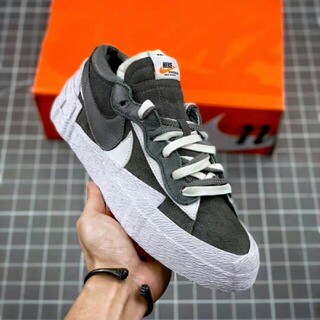 "sacai - sacai x Nike blazer low""Dark Grey"""