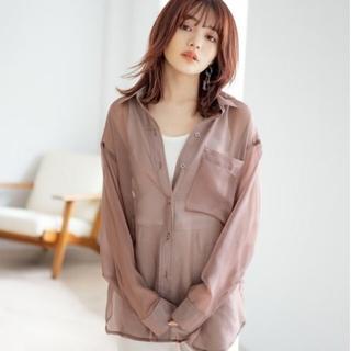 GRL - GRL バックスリットシアーシャツ[ydm185]