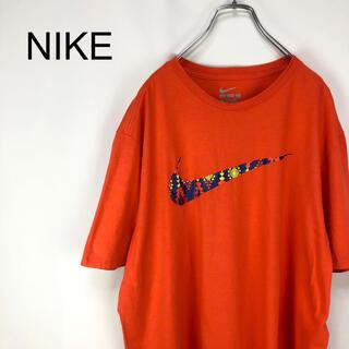 NIKE - ナイキ☆デカロゴ ビックシルエット ゆるだぼ ビックサイズ Tシャツ カットソー