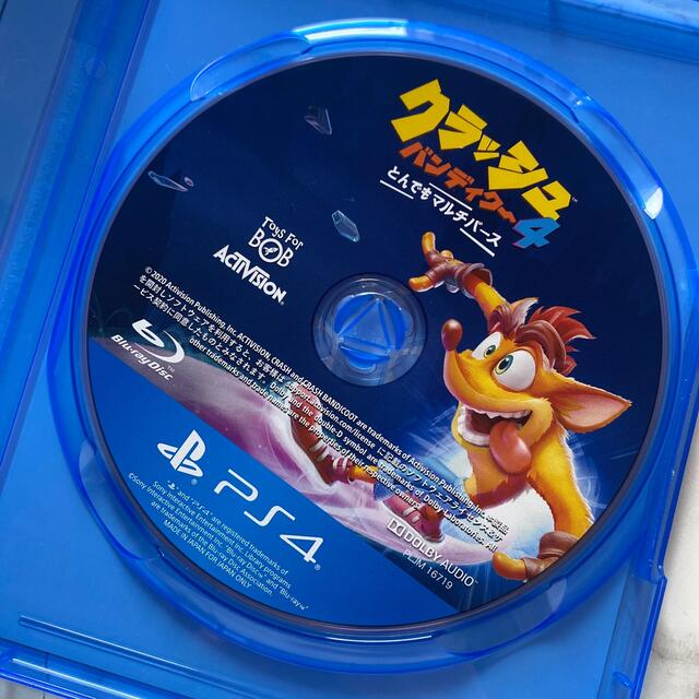 PlayStation4(プレイステーション4)のクラッシュ・バンディクー4 とんでもマルチバース PS4 エンタメ/ホビーのゲームソフト/ゲーム機本体(家庭用ゲームソフト)の商品写真