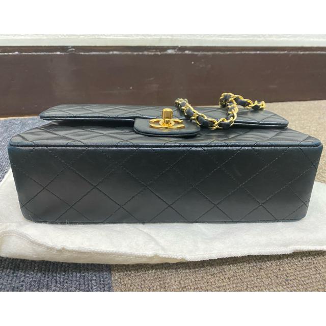 CHANEL(シャネル)のシャネル マトラッセダブルフラップチェーンショルダーバッグ ラムスキン レディースのバッグ(ショルダーバッグ)の商品写真
