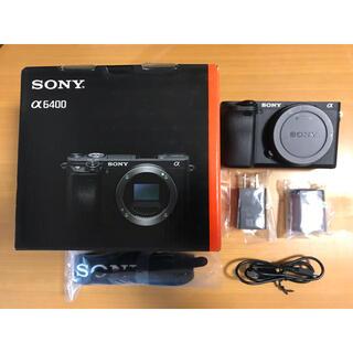 SONY - α6400 ボディ ブラック【SONY  ILCE-6400】(a6400)