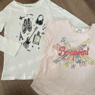 ボンポワン(Bonpoint)のボンポワン Tシャツ 2枚セット 8a(Tシャツ/カットソー)