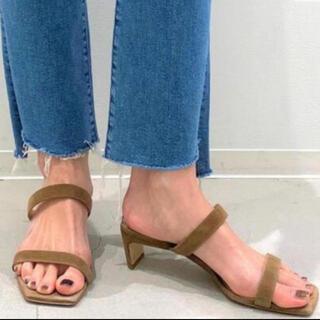 アパルトモンドゥーズィエムクラス(L'Appartement DEUXIEME CLASSE)のアパルトモン 【BRENTA/ブレンタ】W Strap Heel Sandal(サンダル)