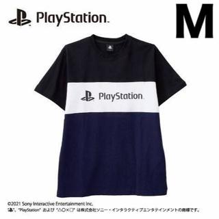 ソニー(SONY)のPlay Station公式 プレステ GAME ロゴ Tシャツ M(Tシャツ/カットソー(半袖/袖なし))