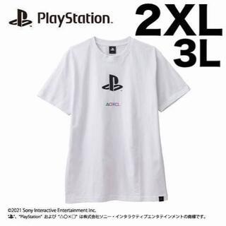 ソニー(SONY)の大きいサイズ 2XL Play Station公式 GAMEロゴ Tシャツ 3L(Tシャツ/カットソー(半袖/袖なし))