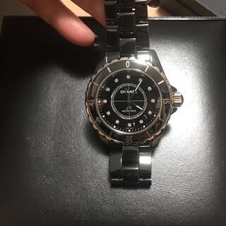 CHANEL - シャネル ❤️J12 38mm 12Pダイヤ 腕時計