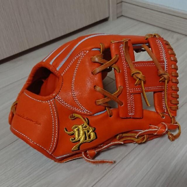 和牛 JB 硬式内野手用 スポーツ/アウトドアの野球(グローブ)の商品写真