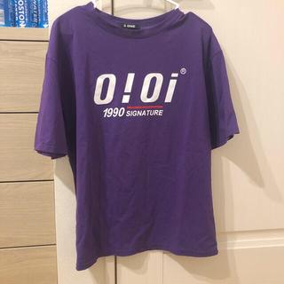 パープル 紫 Tシャツ(Tシャツ(半袖/袖なし))