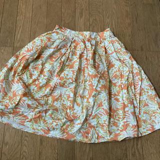 ケービーエフ(KBF)のポケット付き 花柄スカート 膝丈 KBF(ひざ丈スカート)