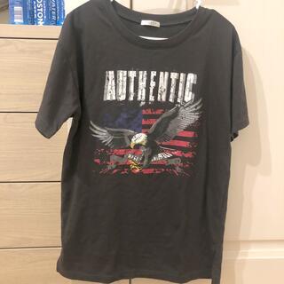 グレー Tシャツ(Tシャツ/カットソー(半袖/袖なし))