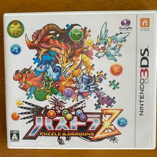 ニンテンドー3DS(ニンテンドー3DS)の期間限定出品【空箱】パズドラZ 3DS(携帯用ゲームソフト)