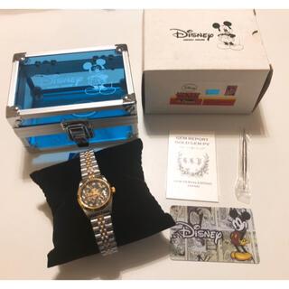 Disney - 新品限定品 ミッキーマウス 天然ダイヤ付 腕時計
