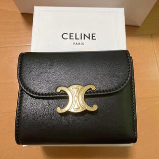 celine - セリーヌ トリオンフ 財布 三つ折り