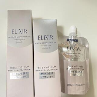 ELIXIR - エリクシール 化粧水とてもしっとり、乳液とてもしっとり、詰め替え乳液