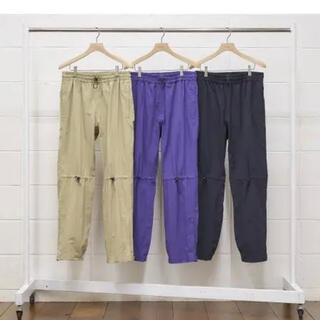 アンユーズド(UNUSED)のUNUSED UW0792 nylon pants 黒4 1LDK(その他)