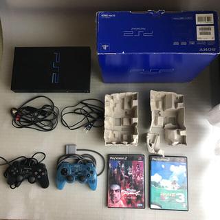 プレイステーション2(PlayStation2)のSONY PlayStation2 SCPH-39000 みんゴル3ほか1つ(家庭用ゲーム機本体)