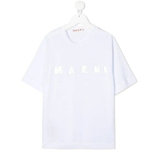 マルニ(Marni)の⭐2021SS/新品 MARNI   メタリックロゴ Tシャツ 10y(Tシャツ(半袖/袖なし))
