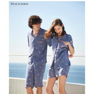 PEACH JOHN - ピーチジョン パジャマ ルームウェア ペア 半袖 ポーチ おそろい フラガール
